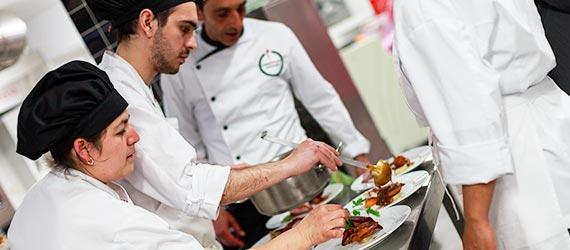 alumnado del curso de cocina profesional